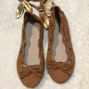 Zara Girls Bow Tie Shoes Size 36